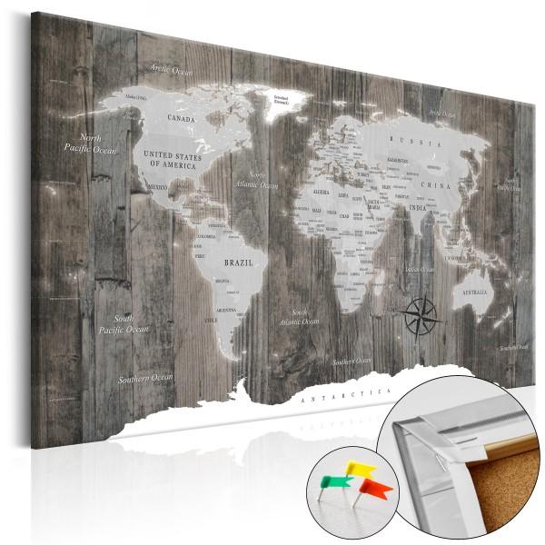 Artgeist Korkbild - World of Wood [Cork Map]
