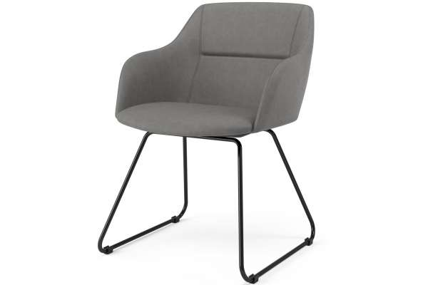 Tenzo 2x Stuhl Liam mit Sofia mit Kunstleder