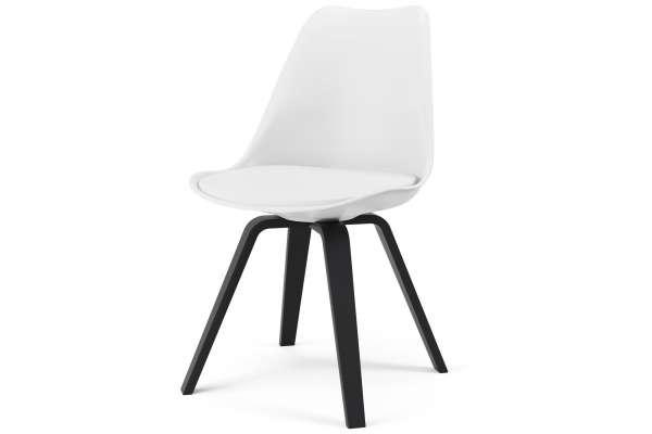 Tenzo 2x Stuhl Ella mit Gina mit Kunstleder