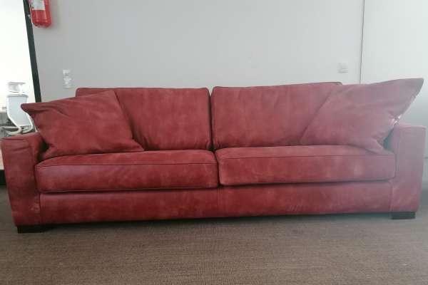 Het Anker Rockefeller 4 Sitzer Sofa in Theater Rood