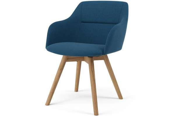 Tenzo 2x Stuhl Sara mit Sofia mit Polyester