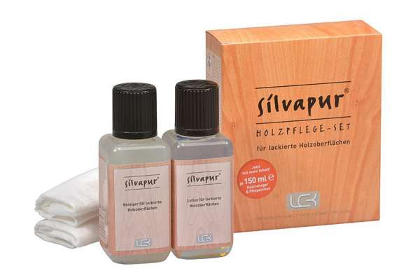 LCK Silvapur® Holzpflege-Set