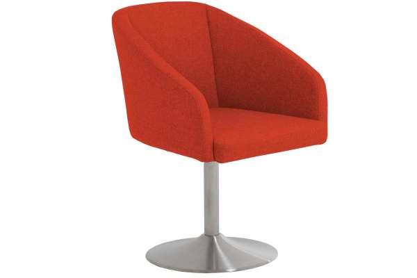 MWA Aktuell Stuhl London Stoff orange