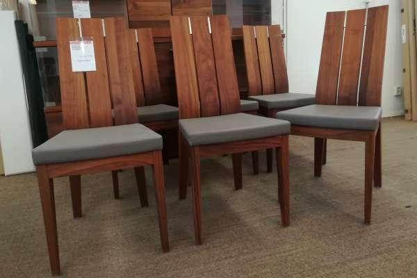 Venjakob 6x Stuhl mit Polster Xenia
