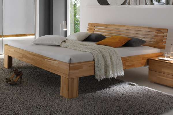 Hasena Bett Wood-Line Classic Litto Massa