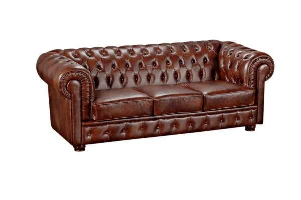 Max Winzer Sofa 3-Sitzer Bridgeport Wischleder