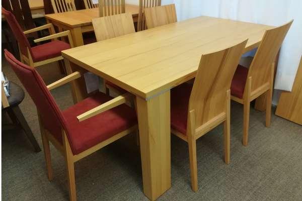 Venjakob Esstisch V-Plus mit 6 Stühlen