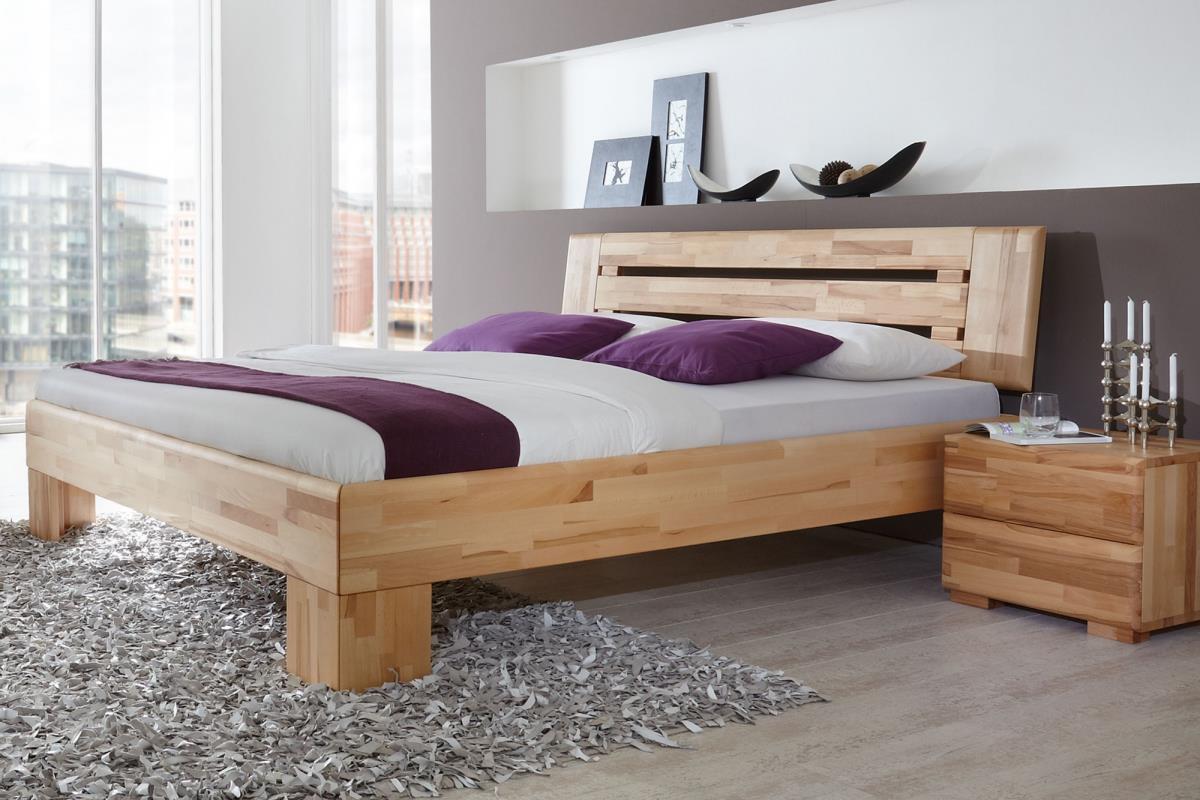 dico massivholzbett avantgarde in verschiedenen farben und gr en. Black Bedroom Furniture Sets. Home Design Ideas