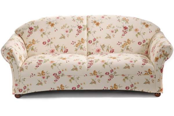 Max Winzer Sofa Corona 2,5 Sitzer mit Blumenmuster