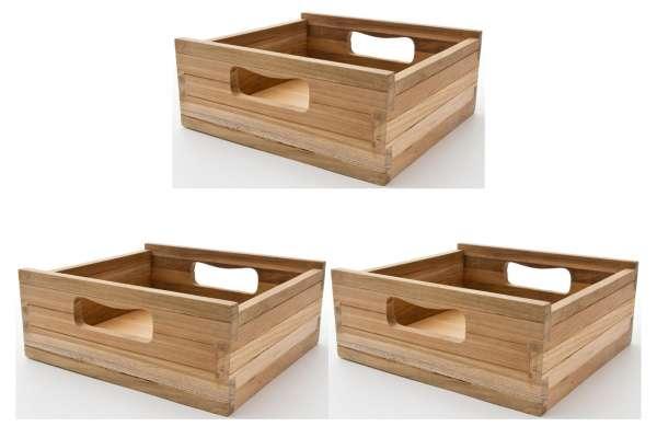 Novasolo Teak Kiste klein