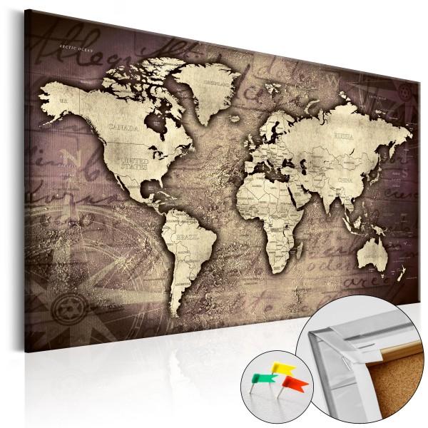 Artgeist Korkbild - Precious World [Cork Map]