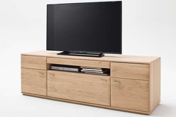 MCA TV-Lowboard Bologna 180cm in Eiche massiv