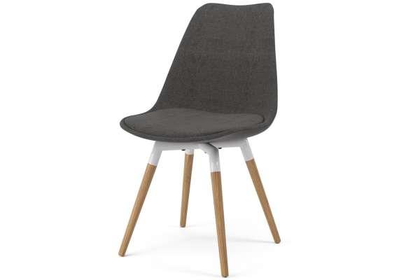Tenzo 2x Stuhl Fido mit Gina in Polyester