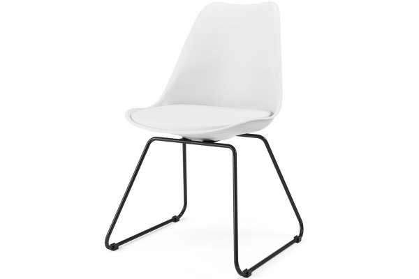 Tenzo 2x Stuhl Liam mit Gina mit Kunstleder
