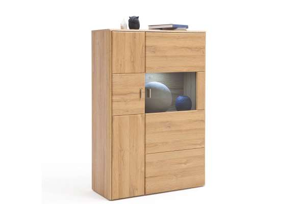 MCA Highboard Florenz L 139cm in Eiche Dekor