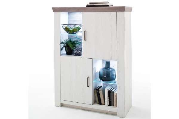 MCA Kombi-Highboard Bozen Landhausstil modern