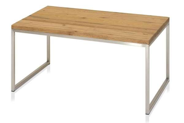 Henke Möbel Couchtisch 90x60 Eiche Kern-Altholz