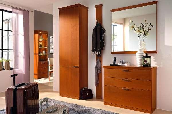 Rietberger Möbelwerke Garderoben Set Siena 4-teilig Kirschbaum