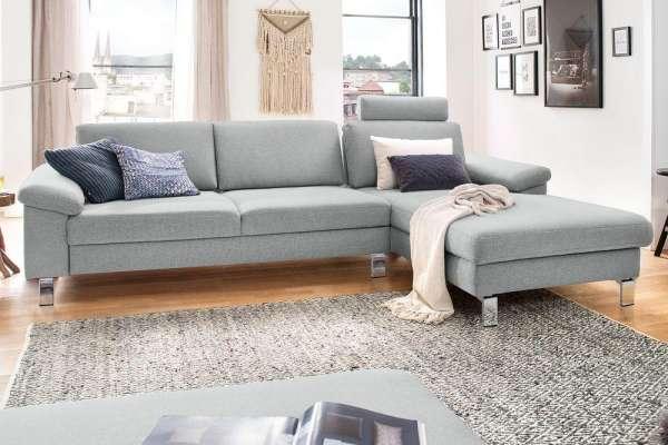 Candy Sofa Coast Move mit Metallfuß chrom glänzend
