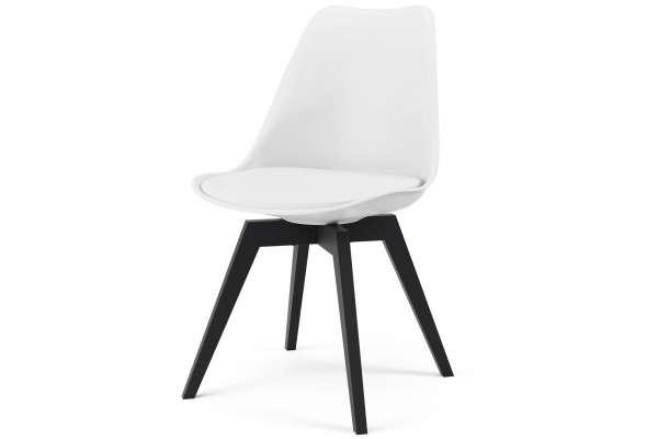 Tenzo 2x Stuhl Bess mit Gina ABS Kunststoff mit Kunstleder