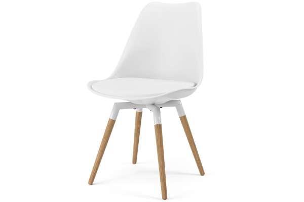 Tenzo 2x Stuhl Fido mit Gina mit Kunstleder