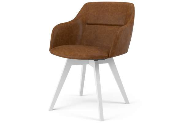 Tenzo 2x Stuhl Bess mit Sofia mit Kunstleder