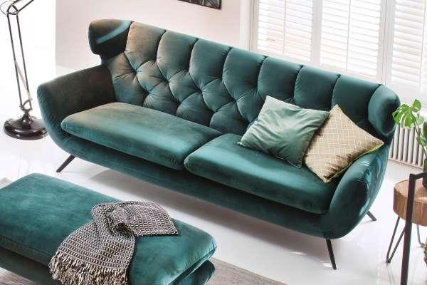 Candy Sofa Sixty mit Metallfuß