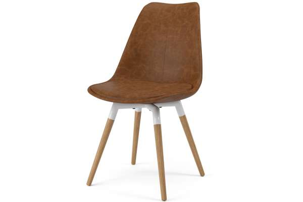 Tenzo 2x Stuhl Fido mit Gina in Kunstleder