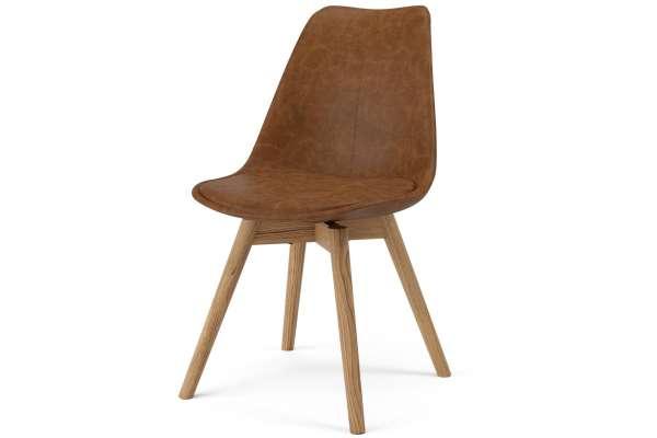 Tenzo 2x Stuhl Sara mit Gina in Kunstleder