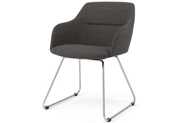 Tenzo 2x Stuhl Liam mit Sofia mit Polyester