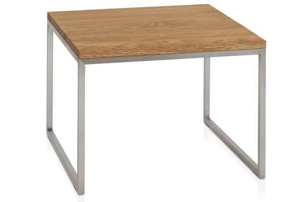 Henke Möbel Beistelltisch 60x60 Asteiche massiv