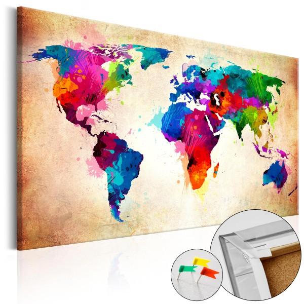 Artgeist Korkbild - Colourful Ranger [Cork Map]
