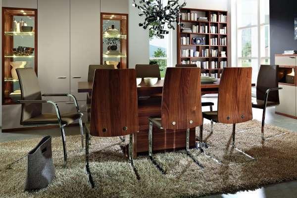 Rietberger Möbelwerke Esstischgruppe Siena 9-teilig
