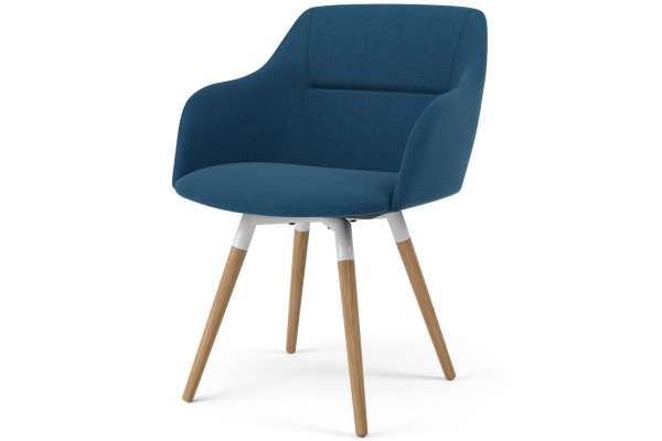 Tenzo 2x Stuhl Fido mit Sofia mit Polyester