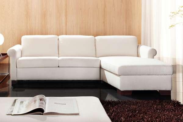 Candy Schlafsofa Allround mit Longchair in PG 8