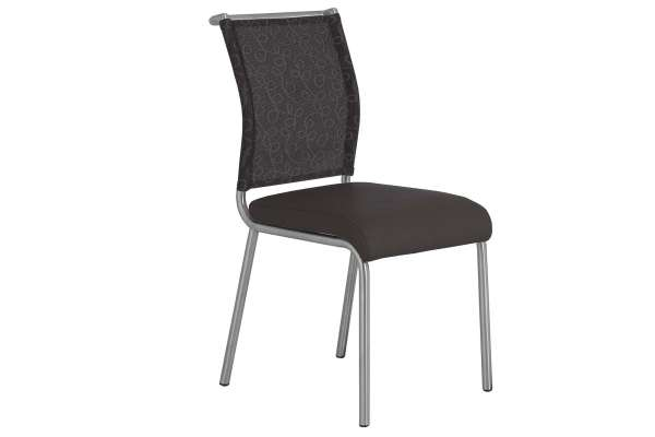 MWA Aktuell Stuhl Neo Kunstleder braun