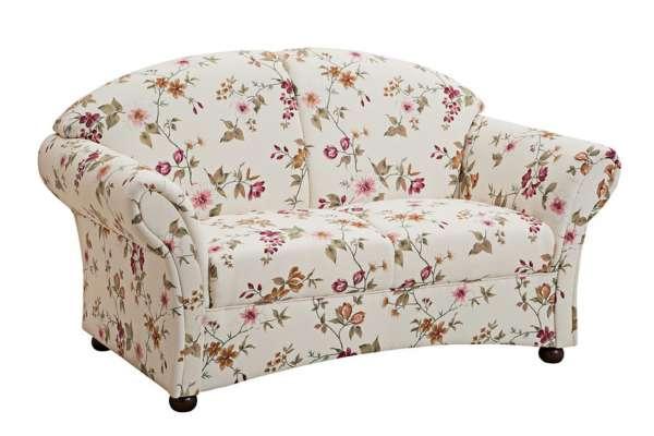 Max Winzer Sofa Corona 2-Sitzer mit Blumenmuster