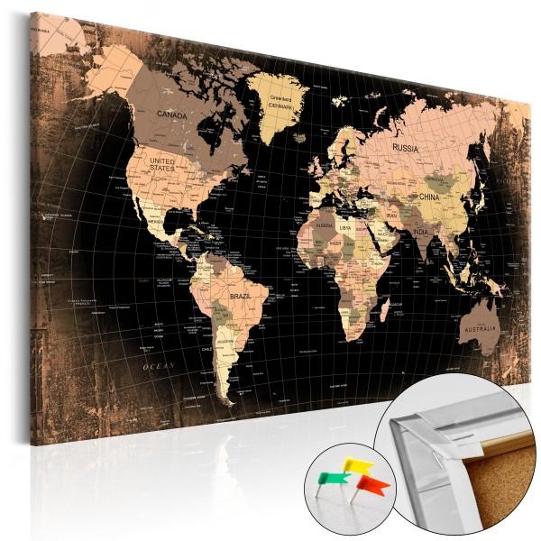 Artgeist Korkbild - Planet Earth [Cork Map]