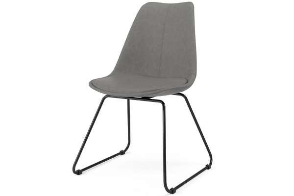 Tenzo 2x Stuhl Liam mit Gina in Kunstleder