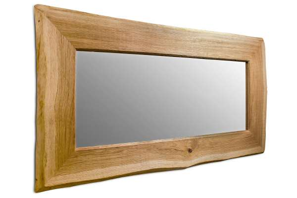 Henke Möbel Spiegel Wildeiche mit Baumkante