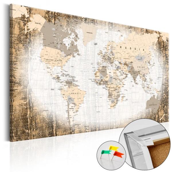Artgeist Korkbild - Enclave of the World [Cork Map]